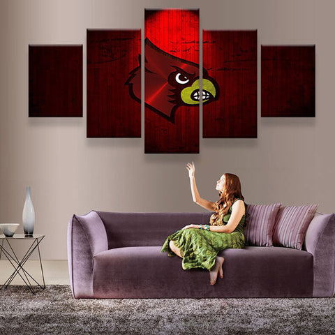Louisville Cardinals Canvas
