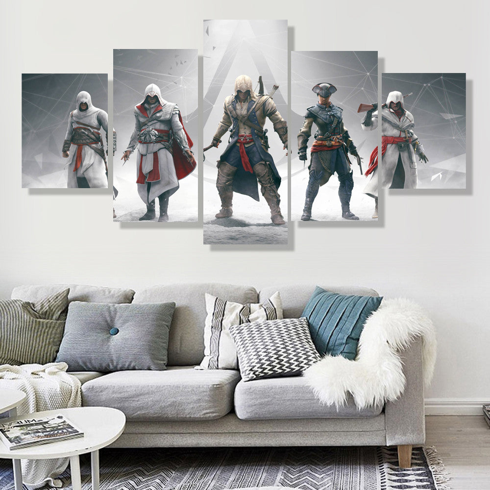 Assassin's Creed Standoff Canvas