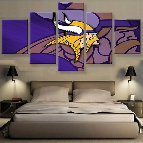 (50% OFF) HD Limited Edition Minnesota Vikings Canvas - FREE SHIPPING