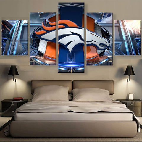 (50% OFF) HD Limited Edition Denver Broncos 3D Canvas - FREE SHIPPING