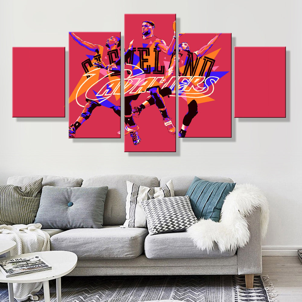 Cleveland Cavaliers Artistic Canvas