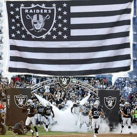 Oakland Raiders Flag