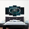 Philadelphia Eagles Aqua Canvas