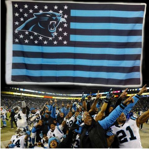 (50% OFF) Carolina Panthers Flag - FREE SHIPPING