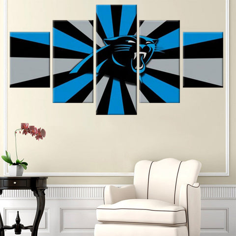 (50% OFF) HD Limited Edition Carolina Panthers Canvas - FREE SHIPPING