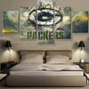 Green Bay Packers Special Framed Canvas