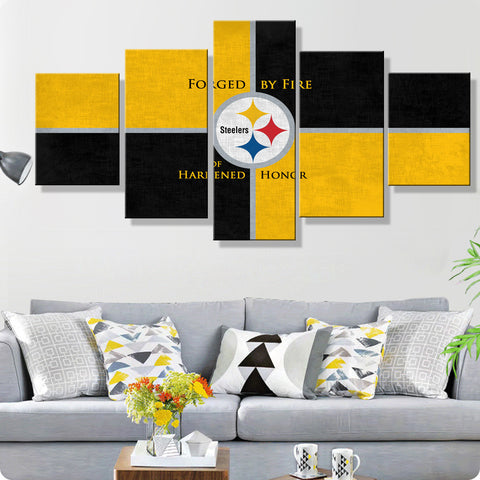 Pittsburgh Steelers Matte Canvas