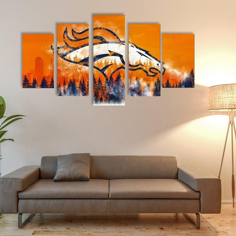 (50% OFF) HD Limited Edition Denver Broncos Canvas - FREE SHIPPING