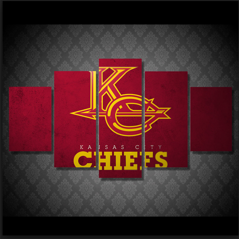 Kansas City Chiefs Red Canvas