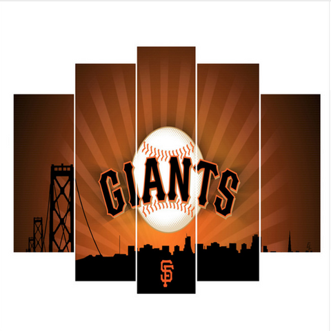 San Francisco Giants Canvas