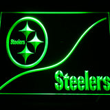 Pittsburgh Steelers Logo 3D Neon Sign