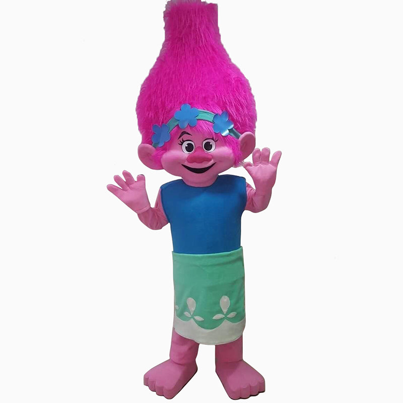 The Trolls- Poppy Mascot Costume