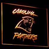 Carolina Panthers Logo 3D Neon Sign
