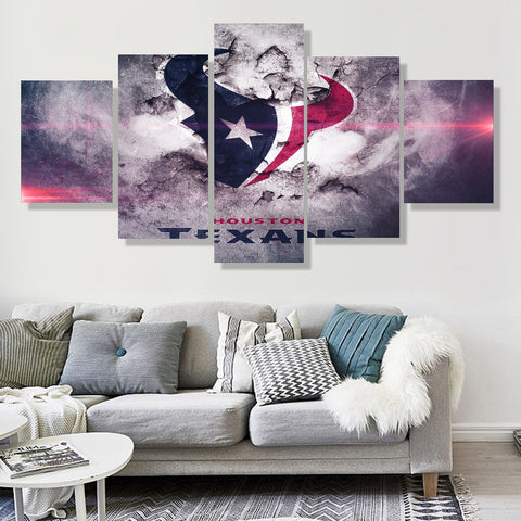 Houston Texans Rugged Canvas