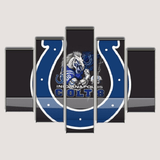 Indianapolis Colts Logo Canvas