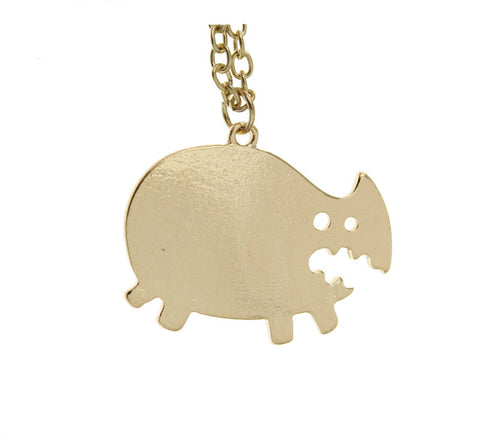Cute Rhino Necklace
