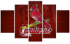 St. Louis Cardinals Canvas Framed