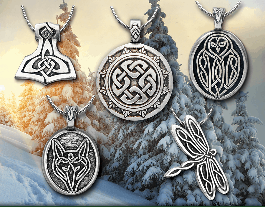 Special Holiday Savings on Celtic Knot Work Jewelry + A Solstice Surprise!