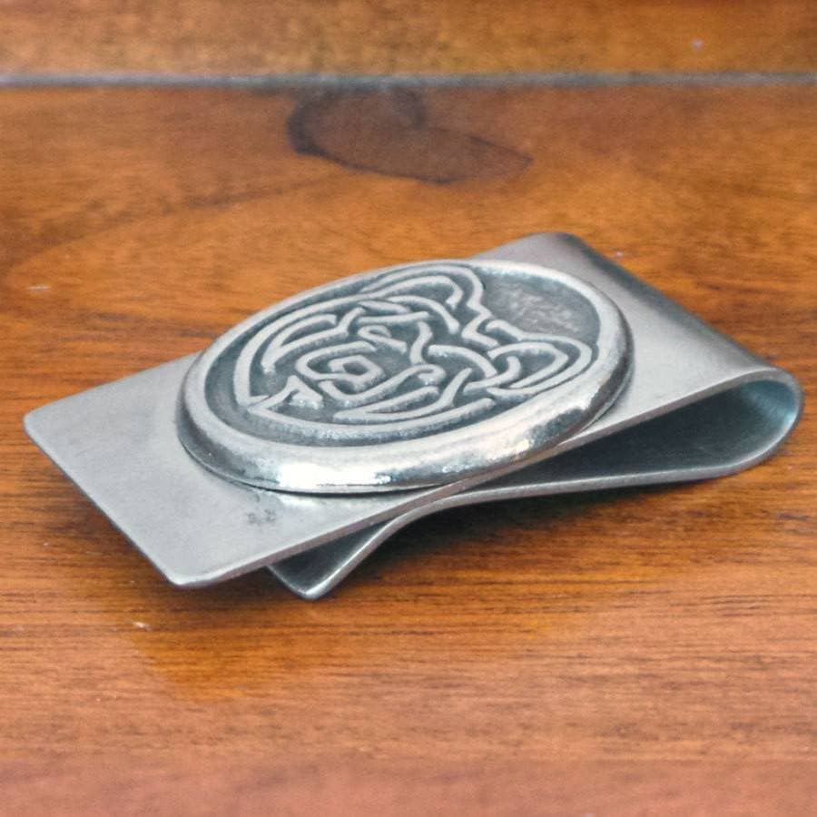 Celtic Knot Works Celtic Bear Money Clip