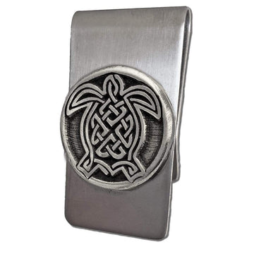 Celtic Knot Works Celtic Turtle Money Clip