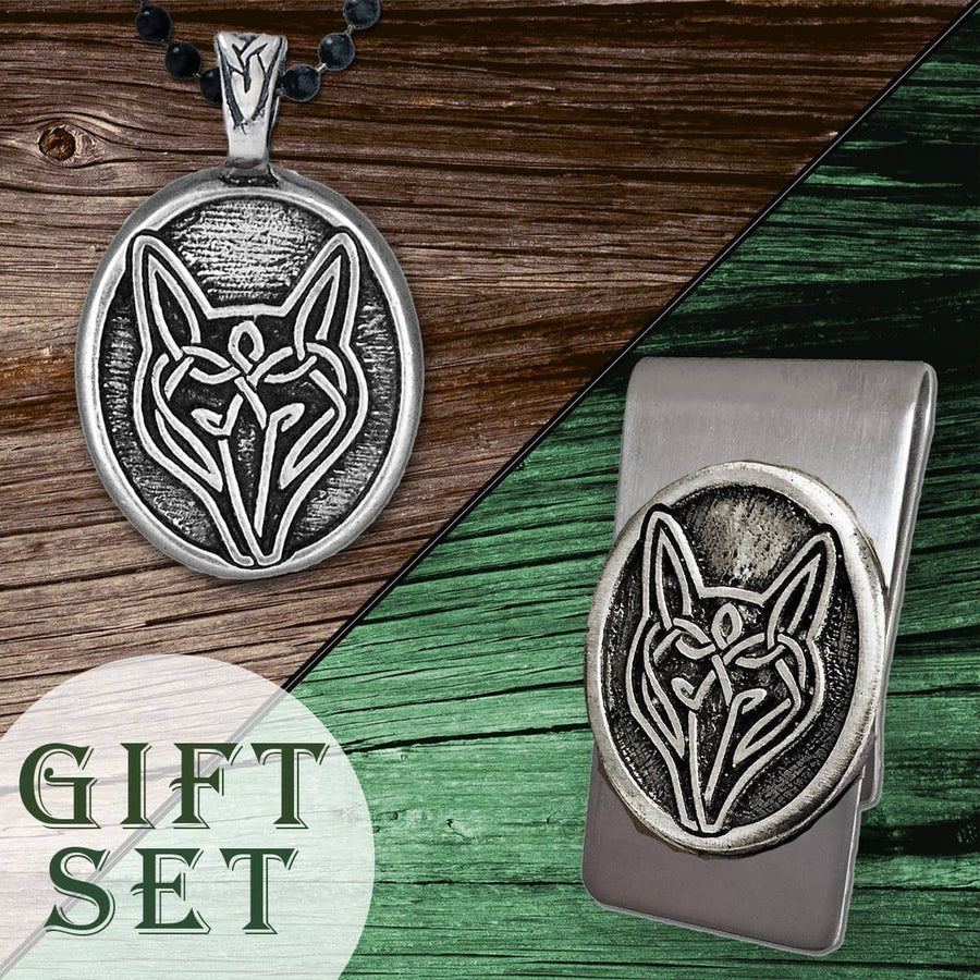 Celtic Knot Works Celtic Wolf Gift Set