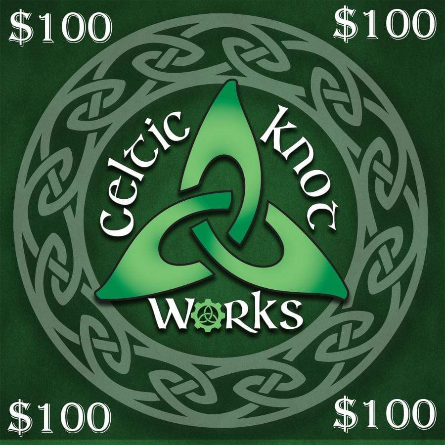 Celtic Knot Works Gift Card $100 $100 Gift Card