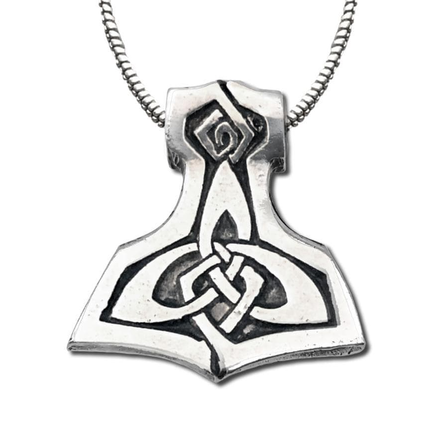 Celtic Knot Works Jewelry Brigid's Celtic Hammer Pendant