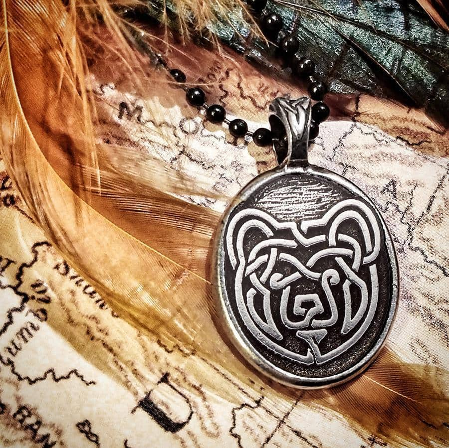 Celtic Knot Works Jewelry Celtic Bear Pendant