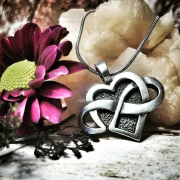 Celtic Knot Works Jewelry Celtic Infinite Heart Pendant