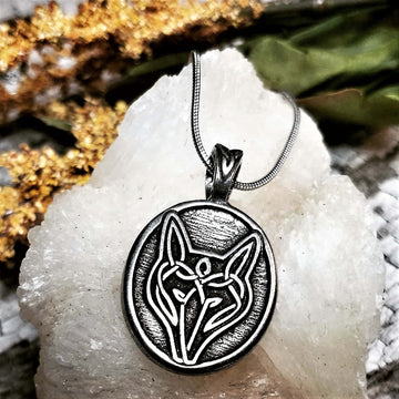 Celtic Knot Works Jewelry Celtic Wolf Pendant
