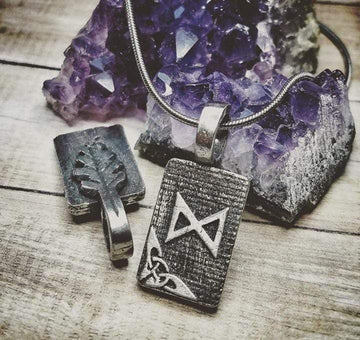 Celtic Knot Works Jewelry Dagaz Rune Pendant – Daylight, Clear Vision, Hope – Ancient Traditions