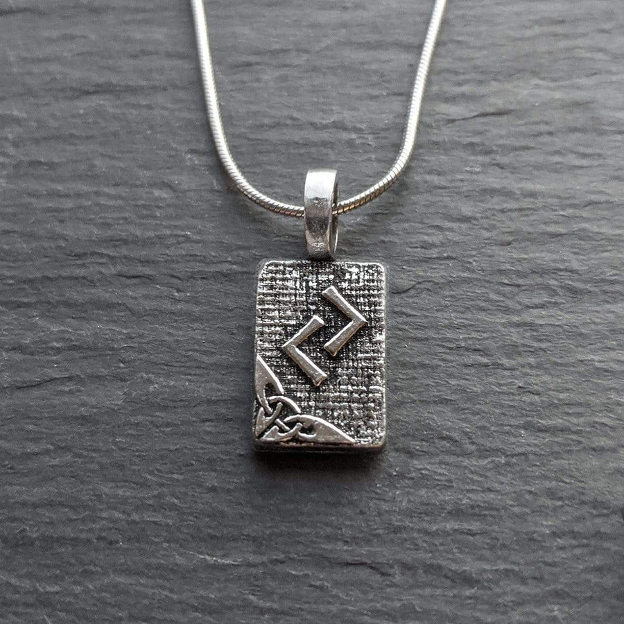 Celtic Knot Works Jewelry Jera Rune Pendant – Harvest, Cycles, Results – Ancient Traditions