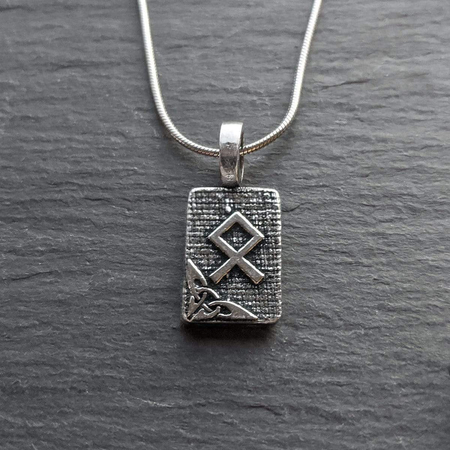 Celtic Knot Works Jewelry Othala Rune Pendant – Home, Roots, Legacy – Ancient Traditions