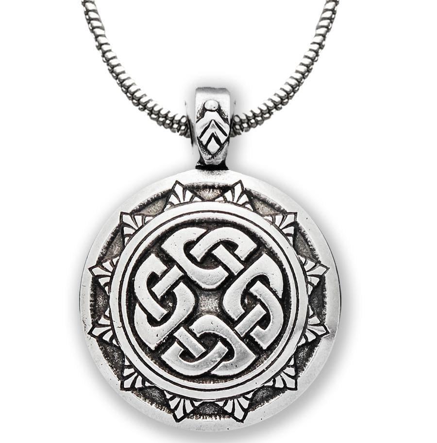 Celtic Knot Works Jewelry Shield Knot Pendant – Celtic Traditions
