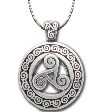 Celtic Knot Works Jewelry Triskele Pendant – Celtic Traditions
