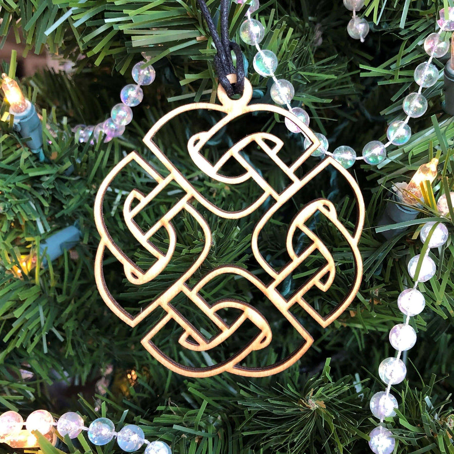 Celtic Knot Works Ornaments Set of 4 Celtic Symbols Ornaments