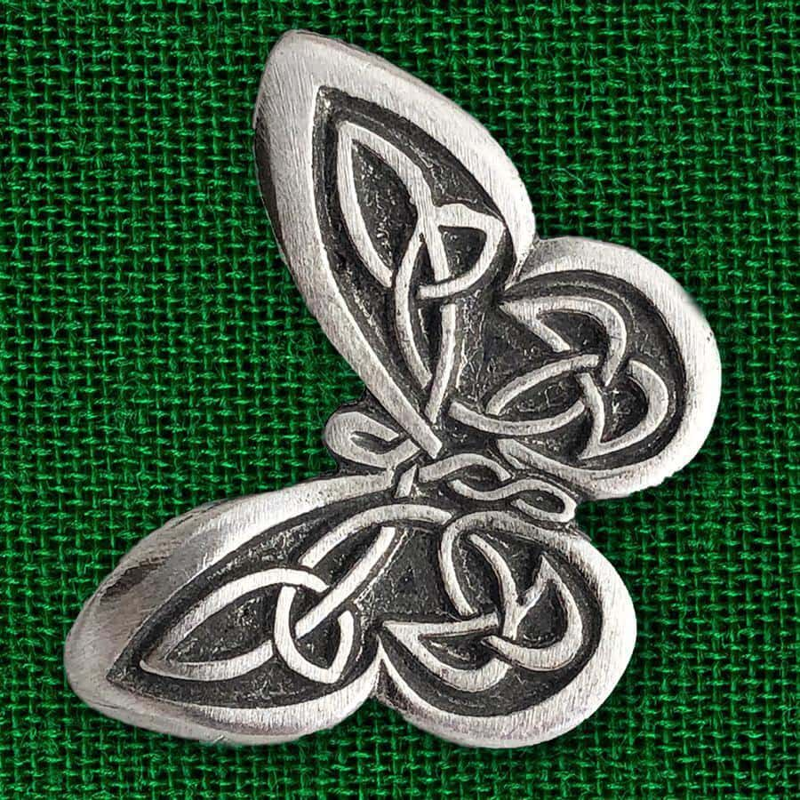 Celtic Knot Works Pin Celtic Knot Butterfly Pewter Pin