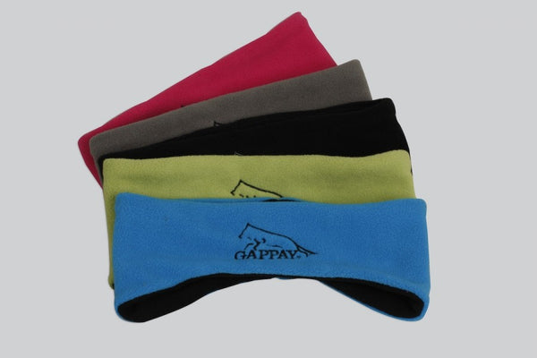 Gappay Broad Micro Fleece Headband - Black