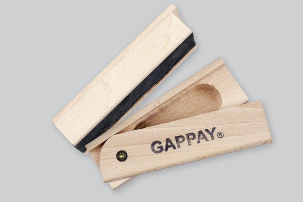 Gappay Tracking Article With Slide Lid Cache - Leather