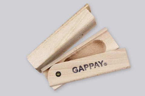 Gappay Tracking Article With Slide Lid Cache - Wood