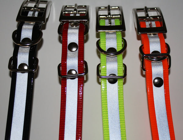 E-Collar Reflective Biothane Buckle Collars For 300, 400, 900 And Barkless Series