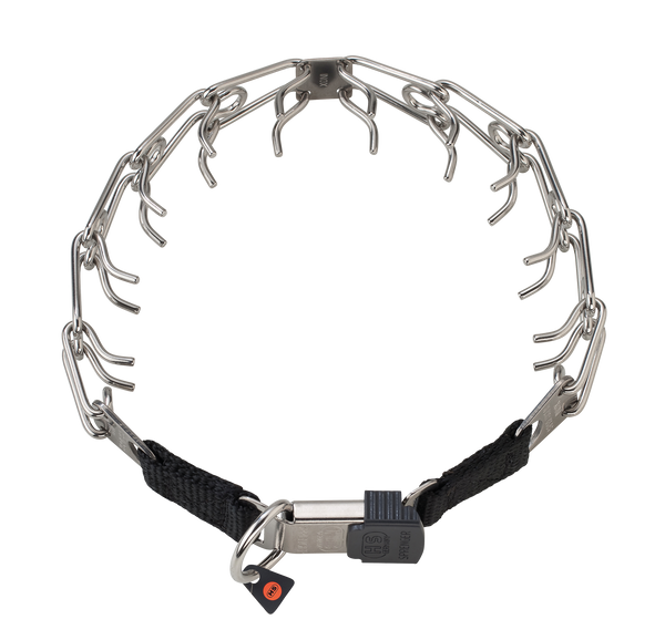 Sprenger Prong Collar W/ Ultra-Plus & Cliclock - Stainless Steel II