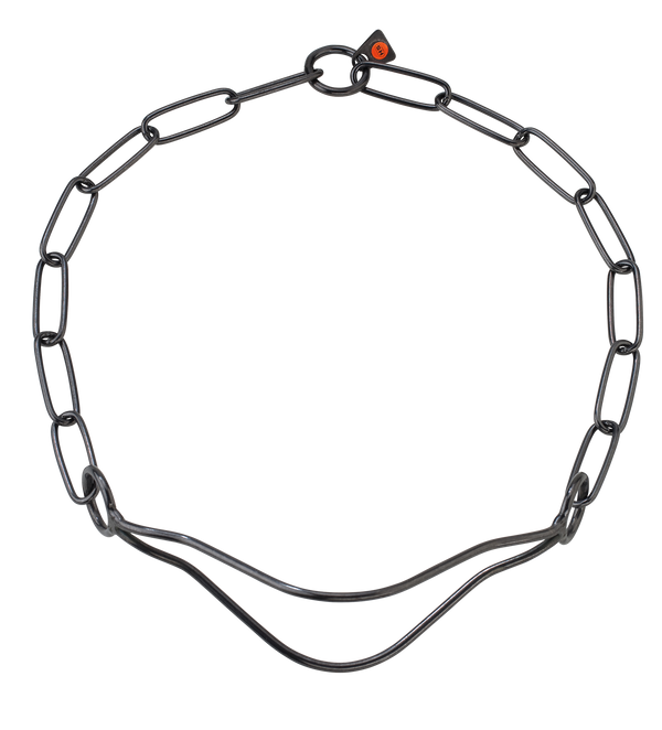 Sprenger Show Collar - Black Stainless Steel II