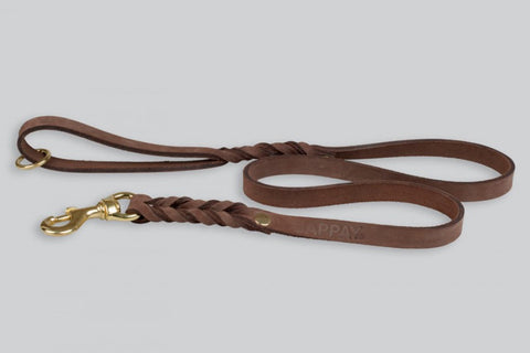Gappay 4' Leather Leash