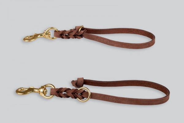 Gappay Leather Tab Leash - 7 7/8