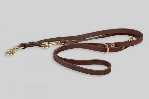 Gappay Leather Multi Leash