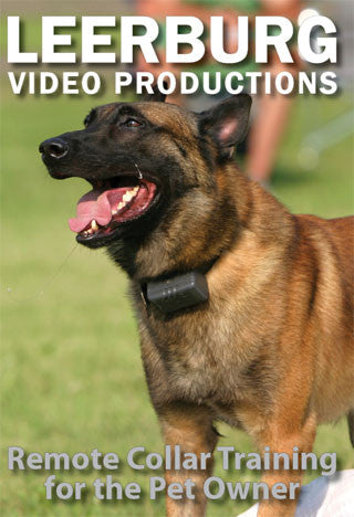 ECollar - Remote Collar Training for the Pet Owner DVD