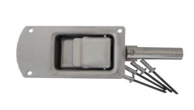 Wt-Metall Lock For Inside Door Without Cylinder