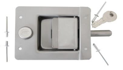 Wt-Metall Lock For Outside Door With Cylinder