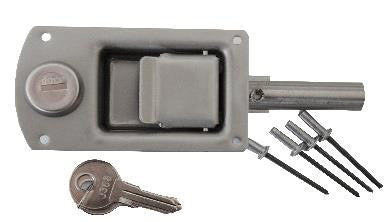 Wt-Metall Lock For Inside Door With Cylinder